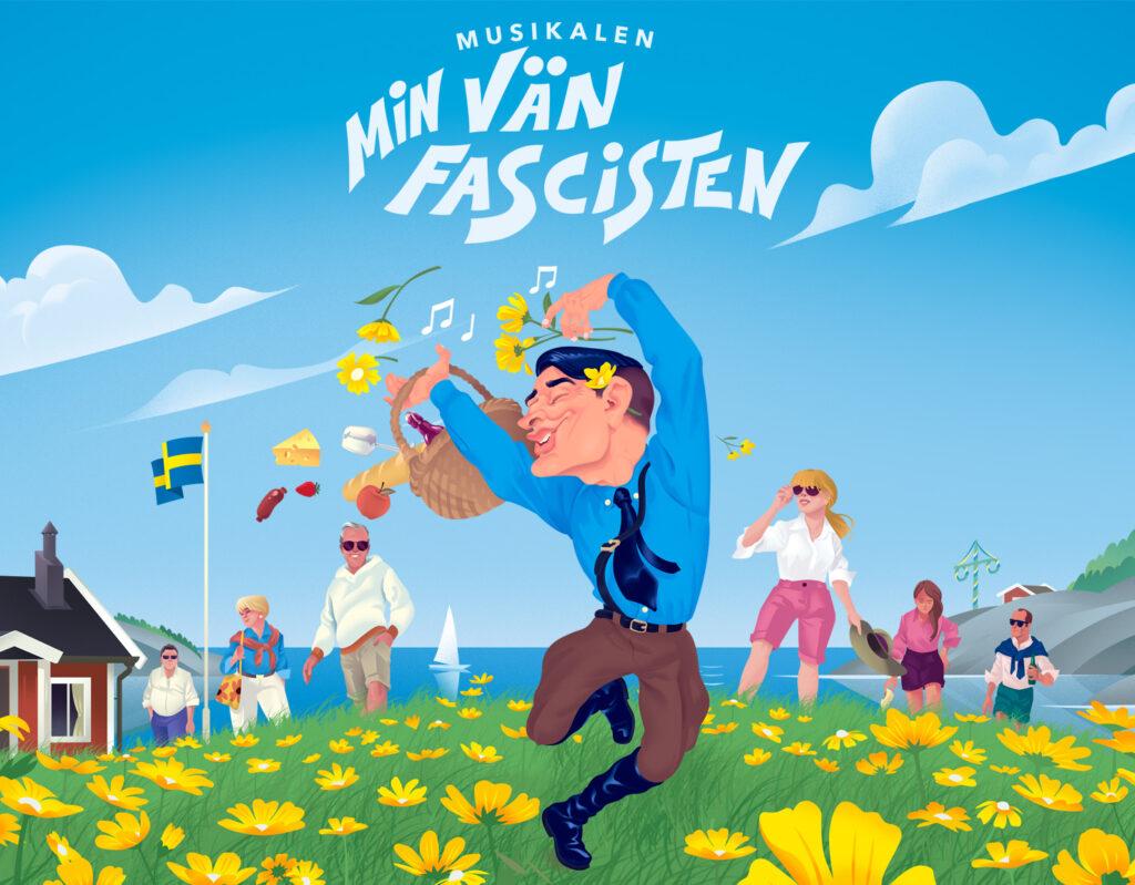 Teater Västernorrland, Min vän fascisten
