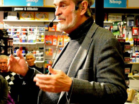 Lasse Berg, gäst på Bokens afton, 23 okt