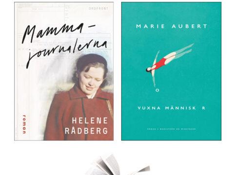 Recension: Mammajournalen av Helene Råberg samt Vuxna Människor av Marie Aubert